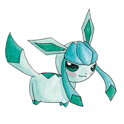 Chubbys Eevee Evolution Glaceon